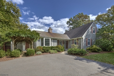 Bedminster Twp. Single Family Home For Sale: 620 Old Dutch Rd