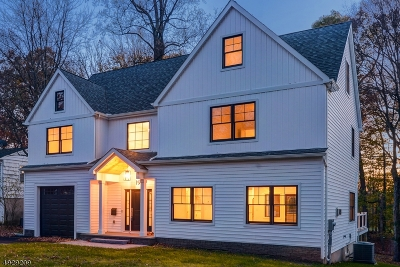 Florham Park Boro Single Family Home For Sale: 19 Townsend Dr