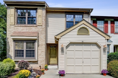 Hillsborough Twp. Condo/Townhouse For Sale: 69 Haverford Ct