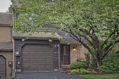 Parsippany-Troy Hills Twp. Condo/Townhouse For Sale: 29 Patriots Rd