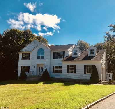 Hardyston Twp. Single Family Home For Sale: 30 Stonehedge Dr