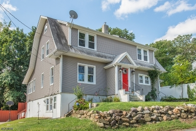 Boonton Town Single Family Home For Sale: 201 Reservoir Dr