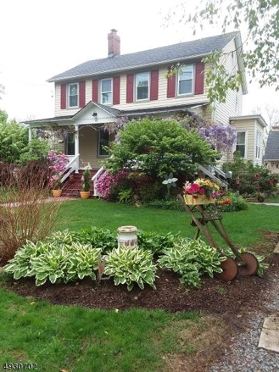 Somerset County Single Family Home For Sale: 42 Olcott St