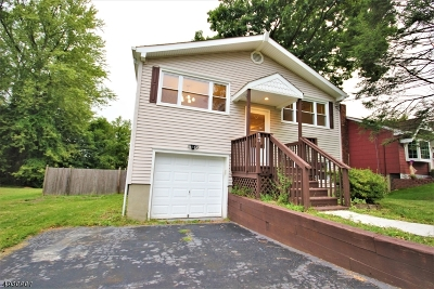 Roxbury Twp. Single Family Home For Sale: 13 Canal St Land