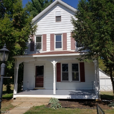 Hunterdon County, Somerset County Single Family Home For Sale: 77 Bonnell St