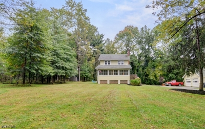 Hunterdon County, Somerset County Single Family Home For Sale: 6 New Bromley Rd