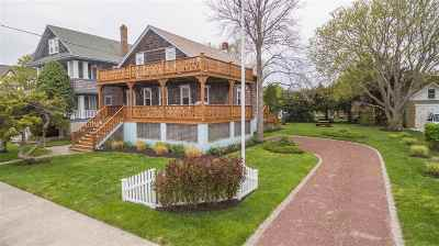 Single Family Home For Sale: 1023 New Jersey Avenue