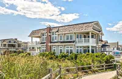 Stone Harbor Single Family Home For Sale: 1 108th Street