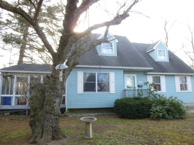 Cape May Court House Single Family Home For Sale: 206 Douglass Road