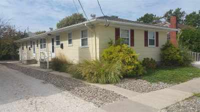 Stone Harbor Multi Family Home For Sale: 337 94th Street