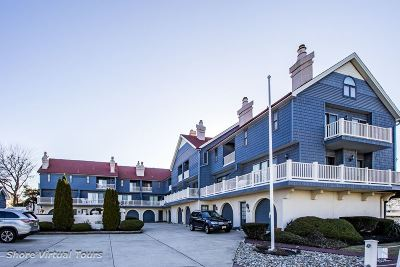 Cape May Townhouse For Sale: 1295 Lafayette Street #A