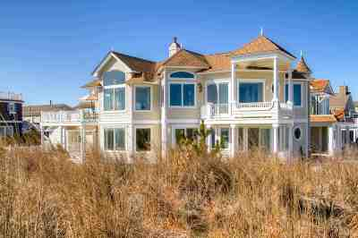 Stone Harbor NJ Single Family Home For Sale: $6,195,000
