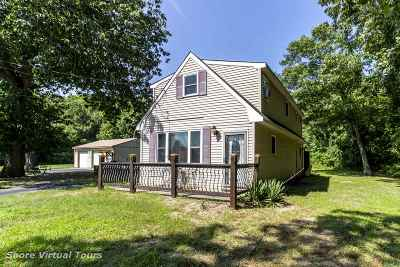 Cape May Court House Single Family Home For Sale: 260 Indian Trail Road