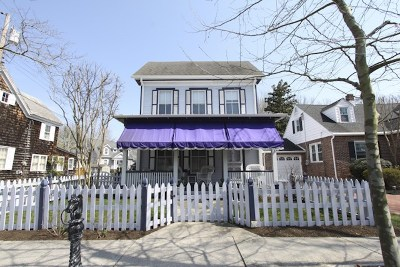 Cape May Single Family Home For Sale: 1130 Washington Street