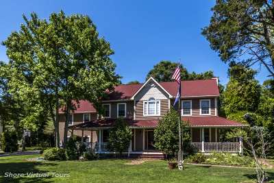 Cape May Court House Single Family Home For Sale: 55 Cedar Meadow Road