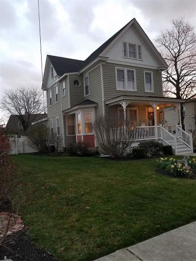 Cape May Court House Single Family Home For Sale: 303 Mechanic Street