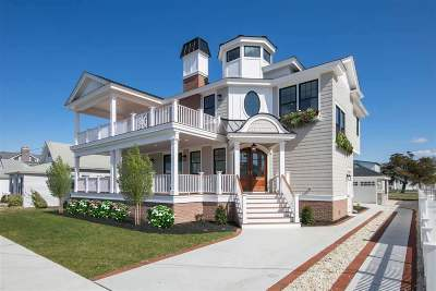 Stone Harbor NJ Single Family Home For Sale: $2,895,000