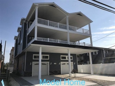 Sea Isle City Townhouse For Sale: 6109 Central #North