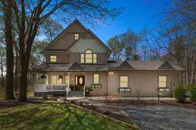 Single Family Home For Sale: 708 Fidler Hill Road