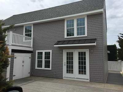 Stone Harbor Condo For Sale: 153 83rd Street #Rear B