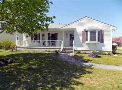 Cape May Single Family Home For Sale: 1163 Delaware Avenue