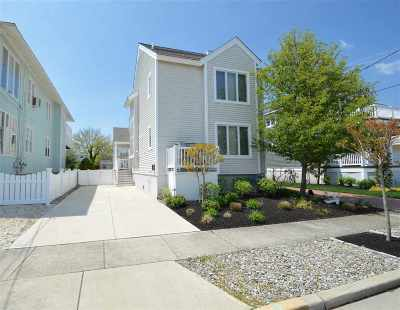 Stone Harbor Townhouse For Sale: 247 87th Street #Front