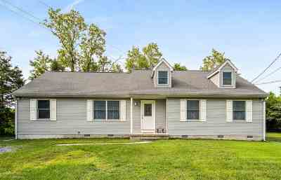Cape May Court House Single Family Home For Sale: 209 Dias Creek Road