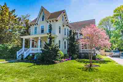 Cape May Single Family Home Under Contract: 1114 Lafayette St
