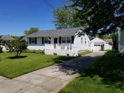 Cape May Single Family Home Under Contract: 1105 Ohio Avenue
