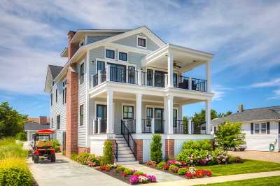 Stone Harbor NJ Single Family Home For Sale: $2,495,000
