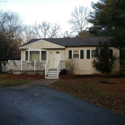 Single Family Home For Sale: 90 Dennisville-Petersburg Road