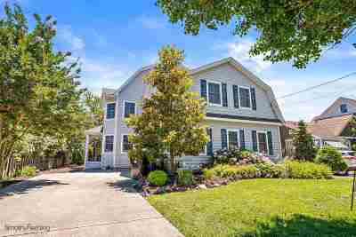 Cape May Single Family Home For Sale: 1312 Maryland Avenue