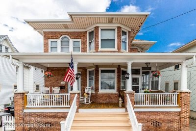 Wildwood Multi Family Home For Sale: 129 E Taylor Avenue