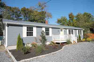 Cape May Court House Single Family Home Under Contract: 403 S Boyd Street