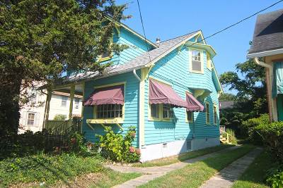 Cape May Single Family Home Under Contract: 1124 Lafayette Street