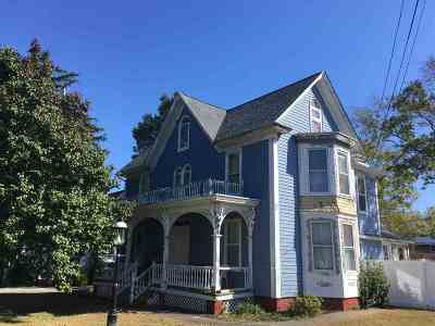 Cape May Court House Single Family Home For Sale: 20 N Main Street