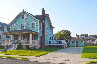 Cape May Single Family Home For Sale: 1005 Kearney Avenue