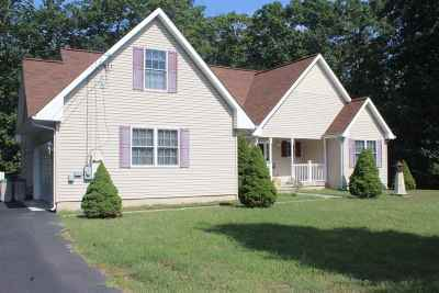 Cape May Court House Single Family Home For Sale: 9 Bellwood Road