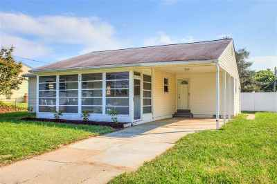 North Cape May Single Family Home For Sale: 408 Townbank Road