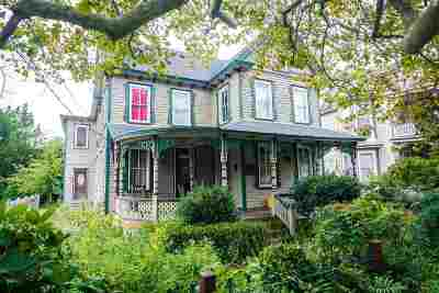 Cape May Single Family Home For Sale: 498 West Perry Street