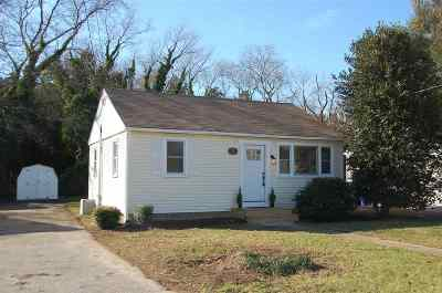 Cape May Court House Single Family Home For Sale: 7 Parkway Drive