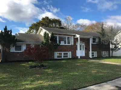 Cape May Court House Single Family Home For Sale: 39 Crest Road