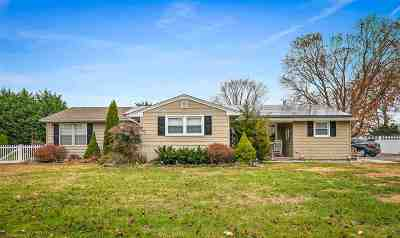 North Cape May Single Family Home For Sale: 3610 Bayshore Road