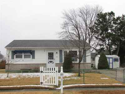 North Cape May Single Family Home Under Contract: 23 Cove Drive