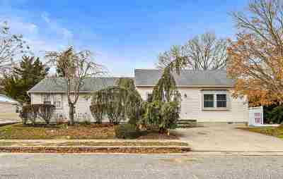 North Cape May Single Family Home Under Contract: 402 Teal Avenue