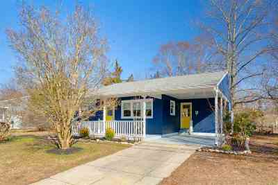 North Cape May Single Family Home For Sale: 409 Townbank Road