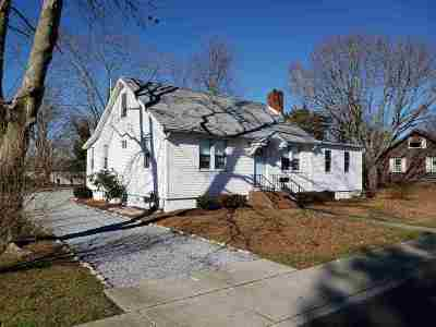 Cape May Court House Single Family Home For Sale: 211 S Boyd