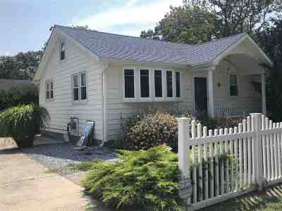 North Cape May Single Family Home For Sale: 14 Beverly Road