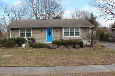 North Cape May Single Family Home For Sale: 633 Town Bank Road