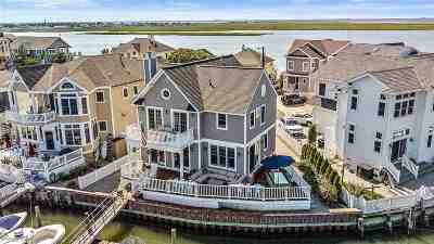 Stone Harbor Single Family Home For Sale: 8522 Sunset Drive